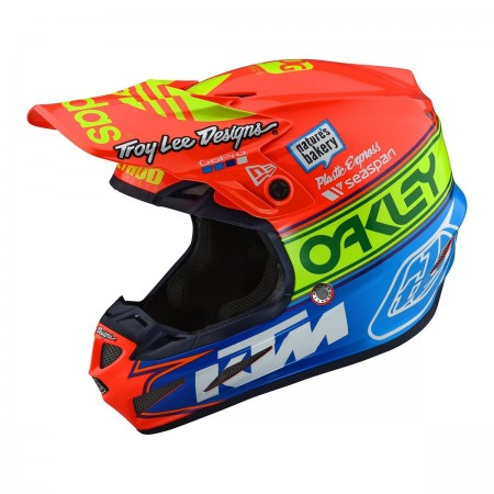TLD HELM SE4 MIPS TEAM EDITION 2 KTM OAKLEY