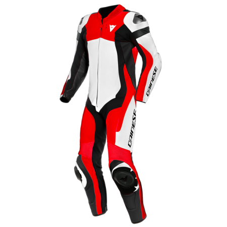 DAINESE ASSEN 2 1PC WHITE LAVA-RED BLACK