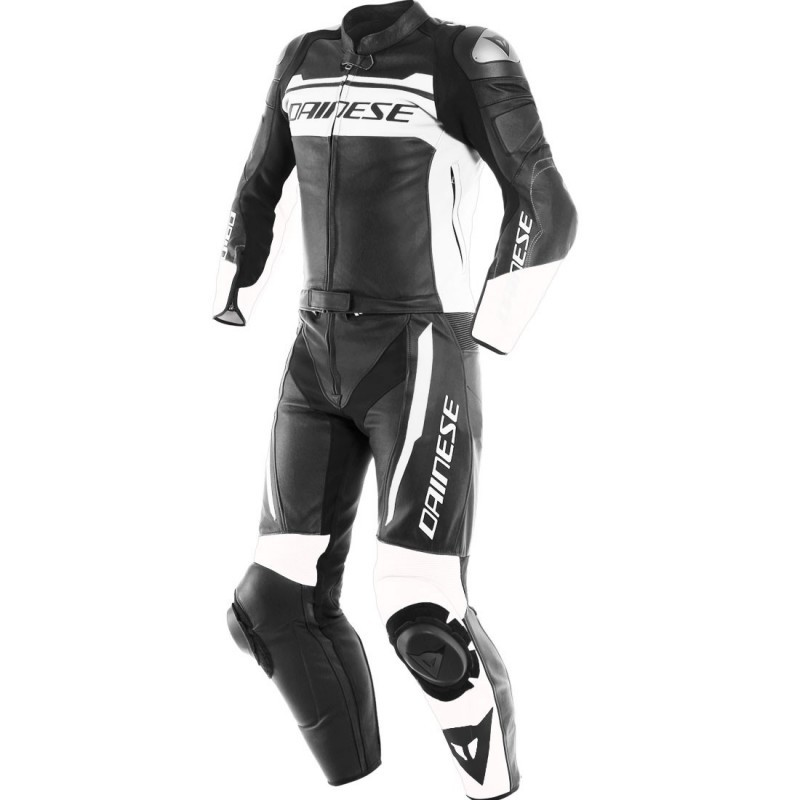 DAINESE MISTEL 2PC BLACK-MATT WHITE BLACK-MATT