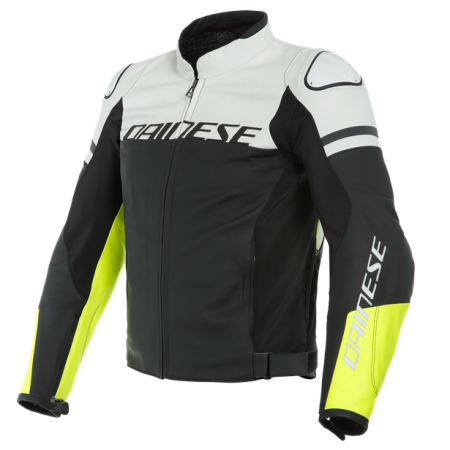 DAINESE AGILE BLACK-MATT WHITE FLUO-YELLOW