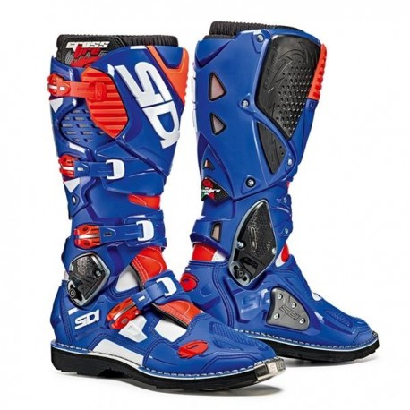 SIDI MX BOOTS CROSSFIRE 3 SRS BLUE WHITE RED