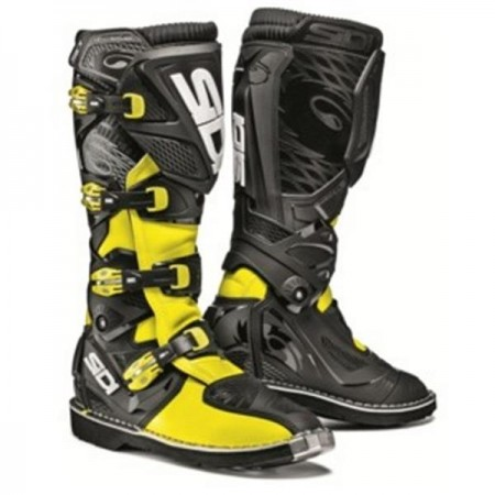 SIDI MX BOOTS X-3 SRS BLACK YELLOW