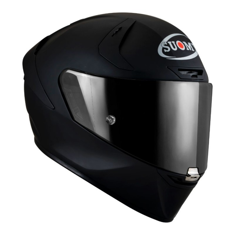 SUOMY Helmet SR GP PLAIN MATT BLACK