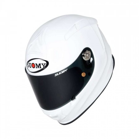 SUOMY Helmet SR GP PLAIN PEARL WHITE