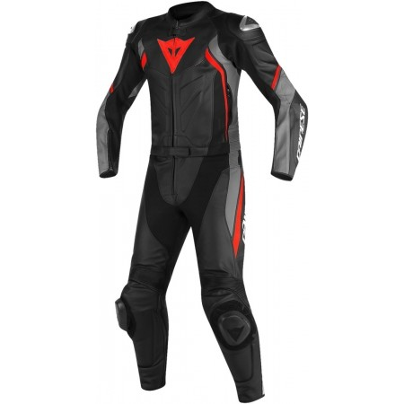 DAINESE AVRO D2 2PC BLACK/GRAY/RED