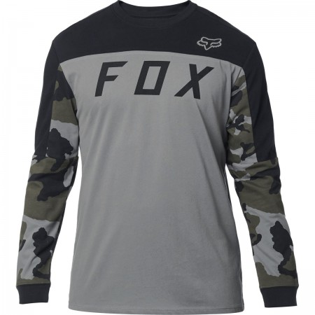 FOX LANGARMSHIRT GRIZZLED AIRLINE