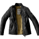 SPIDI Leather jacket ROCK Black