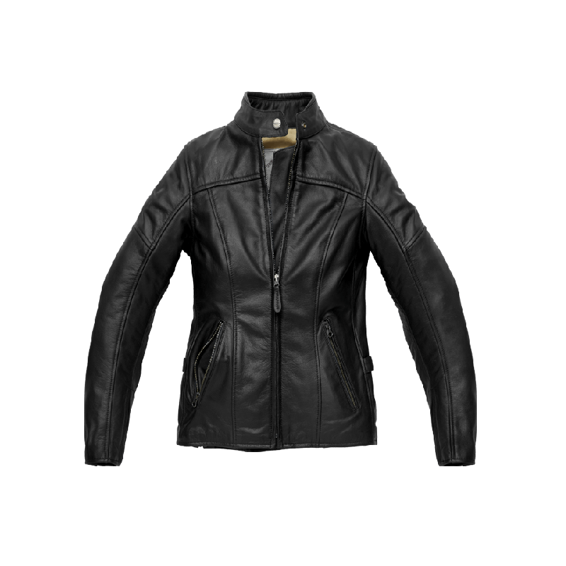 SPIDI Lederjacke ROCK Lady Black
