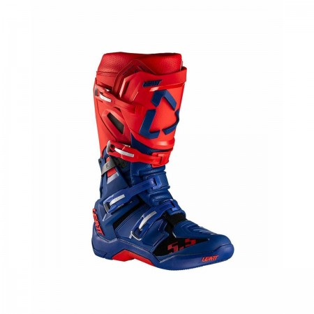 LEATT GPX 5.5 FLEXLOCK MX BOOTS BLUE/RED