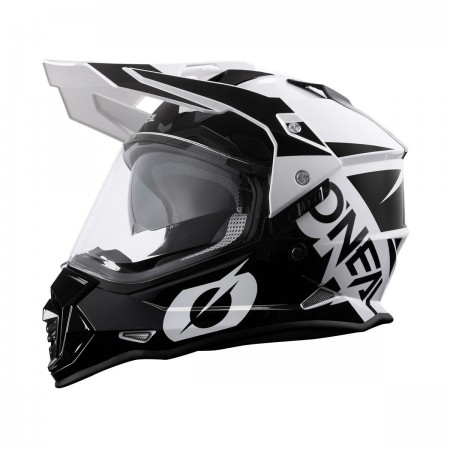 O'NEAL MX SIERRA R BLACK WHITE