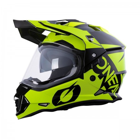 O'NEAL MX SIERRA R BLACK FLUO YELLOW