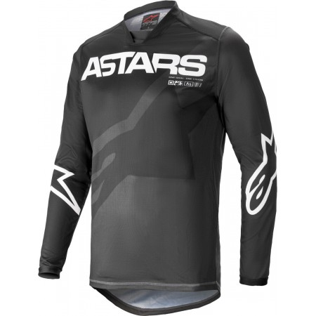ALPINESTARS JERSEY RACER BRAAP BLACK WHITE