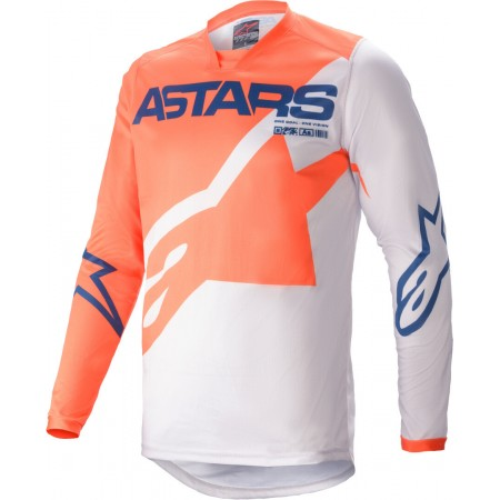 ALPINESTARS JERSEY RACER BRAAP ORANGE WHITE