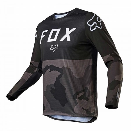 FOX MX JERSEY LEGION LT BLACK CAMO