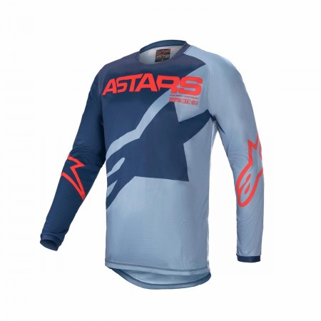 ALPINESTARS MX KIDS JERSEY RACER BRAAP L.BLUE BLUE RED