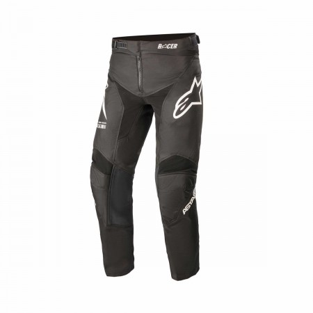 ALPINESTARS MX YOUTH PANTS RACER BRAAP BLACK WHITE