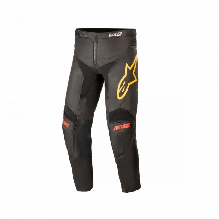 ALPINESTARS MX YOUTH PANTS RACER VENOM BLACK RED ORANGE