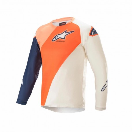 ALPINESTARS MX KIDS JERSEY RACER BLAZE ORANGE BLUE