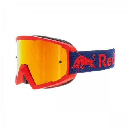 RED BULL SPECT MX GOGGLES RED FLASH