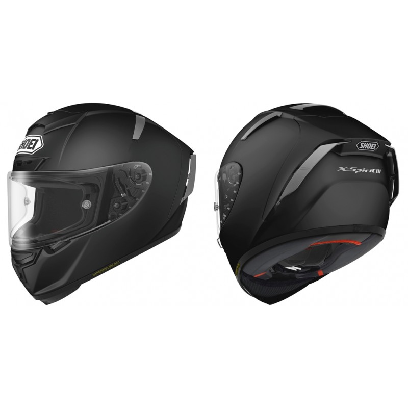 SHOEI X-SPIRIT III MATT BLACK