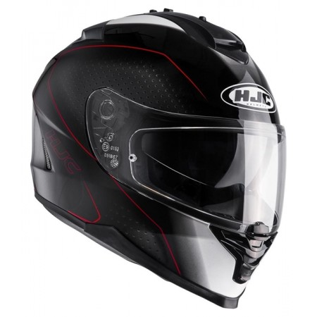 HJC IS-17 ARCUS BLACK RED
