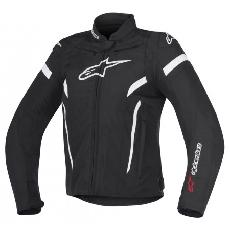 ALPINESTARS STELLA T-GP PLUS R V2 BLACK WHITE ®ENSKA