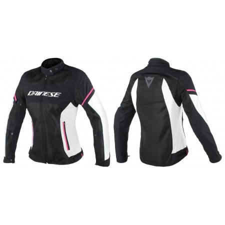 DAINESE AIR FRAME LADY D1 BLACK GREY PINK WOMAN