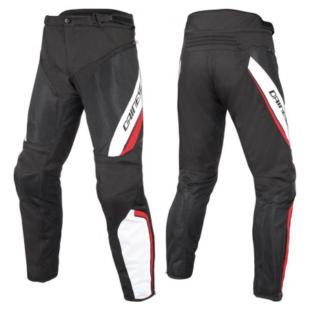DAINESE DRAKE AIR D-DRY BLACK WHITE RED