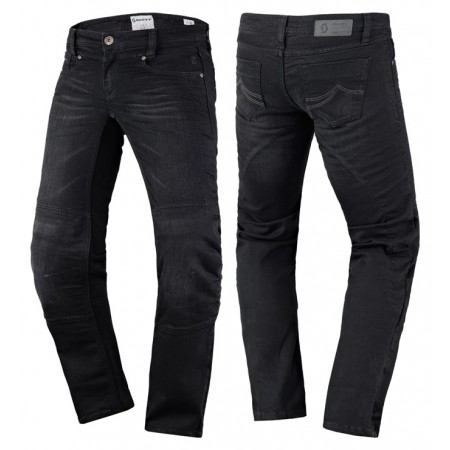 SCOTT DENIM STRETCH BLACK ®ENSKE
