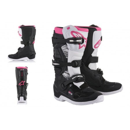 ALPINESTARS STELLA TECH 3 BLACK WHITE PINK
