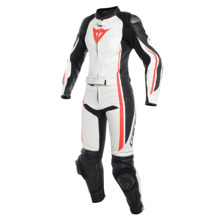 DAINESE ASSEN LADY BLACK WHITE