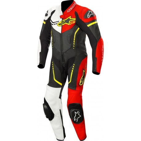 ALPINESTARS GP PLUS YOUTH BLACK WHITE RED