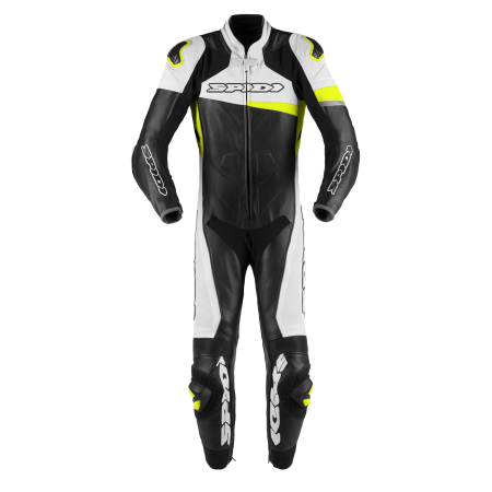 SPIDI RACE WARRIOR PERFORATED BLACK FLUO YELLOW