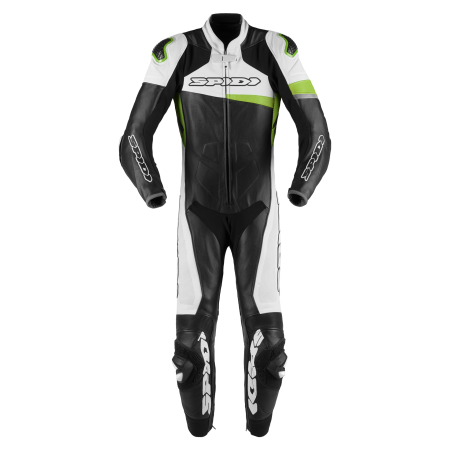 SPIDI RACE WARRIOR PERFORATED BLACK KAWA GREEN