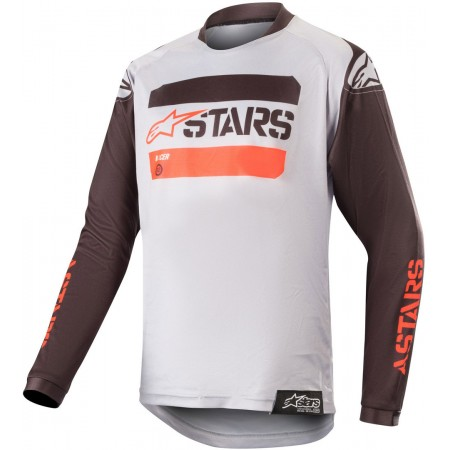 ALPINESTARS YOUTH RACER TACTICAL BLACK GRAY RED