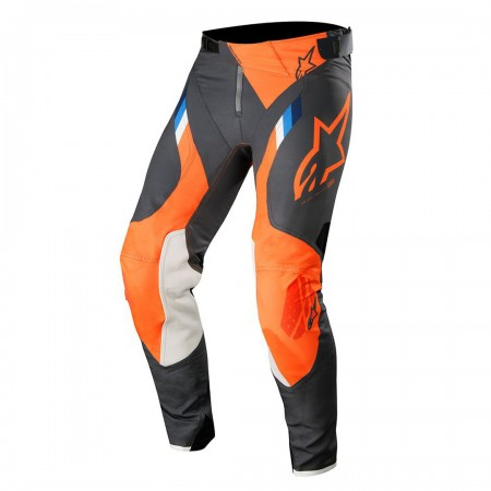 ALPINESTARS SUPERTECH ANTHRACITE ORANGE FLUO