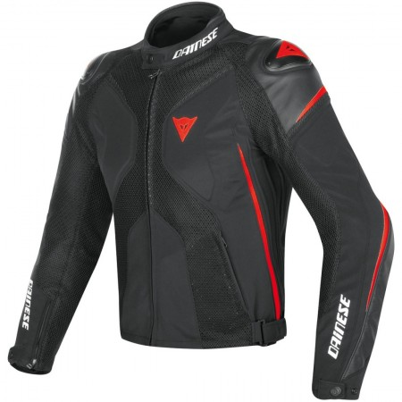DAINESE SUPER RIDER D-DRY BLACK BLACK FLUO RED