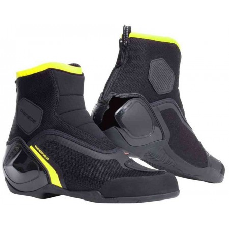 DAINESE Shoes DINAMICA D-WP BLACK/YELLOW-FLUO