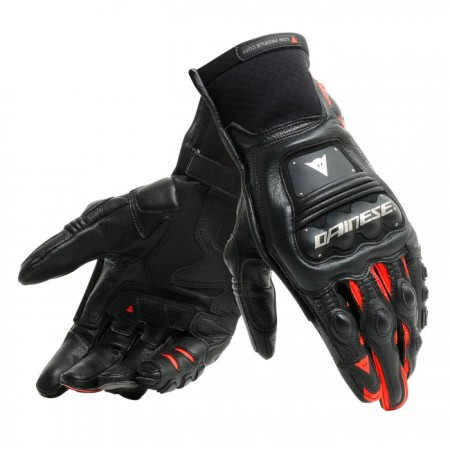 DAINESE STEEL-PRO IN Gloves BLACK-RED