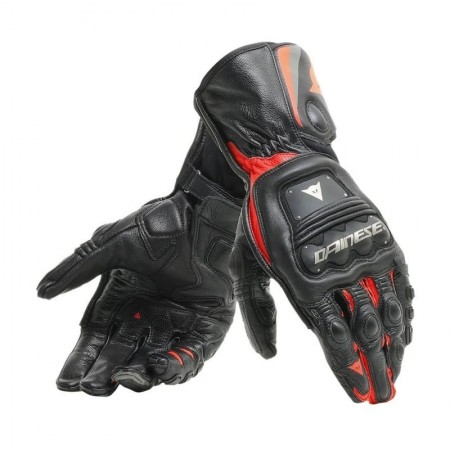 DAINESE STEEL-PRO Gloves BLACK RED