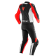 DAINESE MISTEL BLACK MATT WHITE LAVA-RED