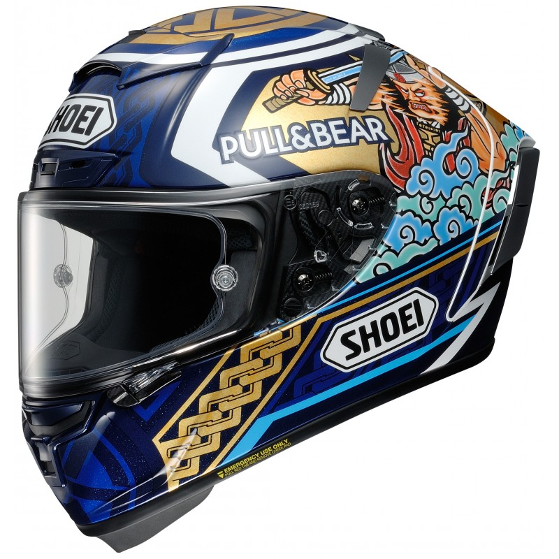 SHOEI X-SPIRIT 3 MARQUEZ MOTEGI 3 TC-2